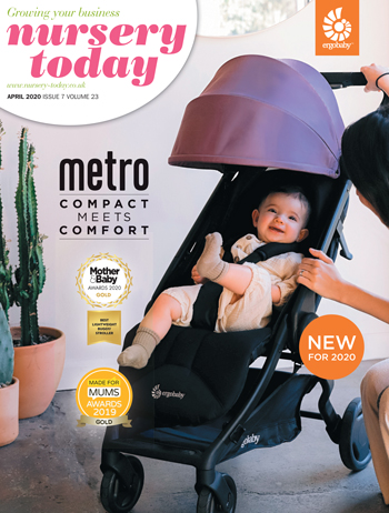 Nursery Today Front Cover April 2020 Joie