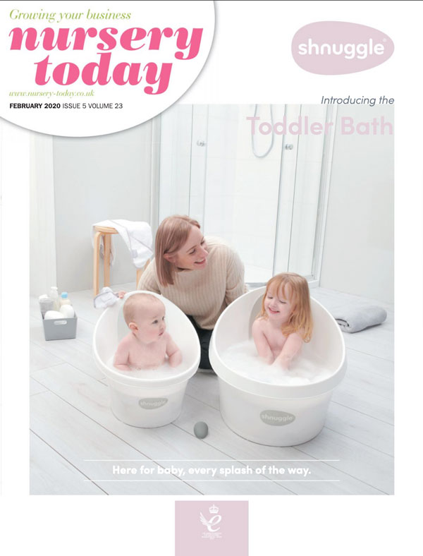 Nursery Today Front Cover February 2020 Shnuggle