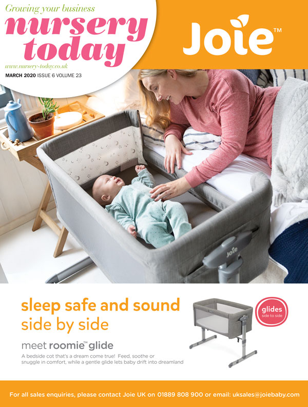 Nursery Today Front Cover 2020 Joie