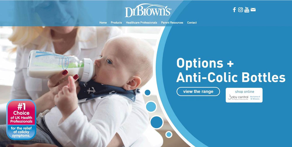 Dr Brown New Website