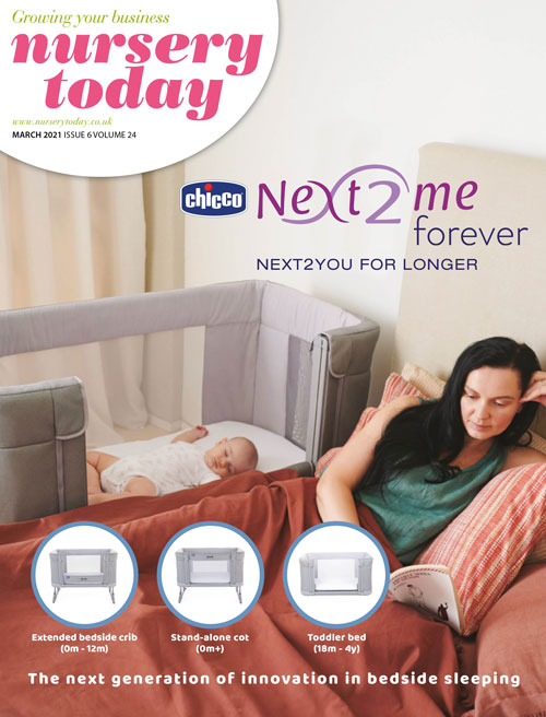 Nursery Today March 2021 Chicco Front Cover